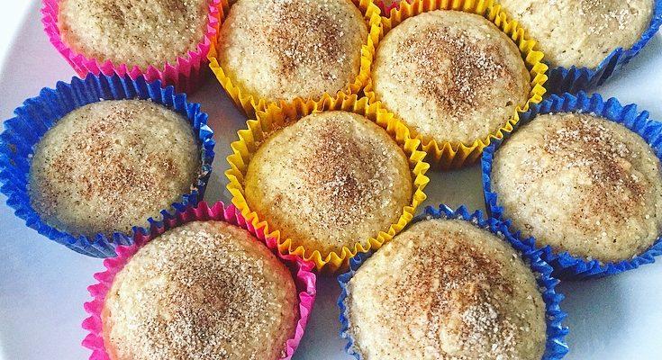 Paleo Snickerdoodle Muffins