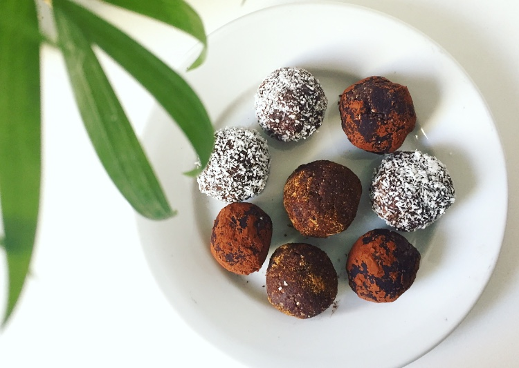 Double Chocolate Protein Balls