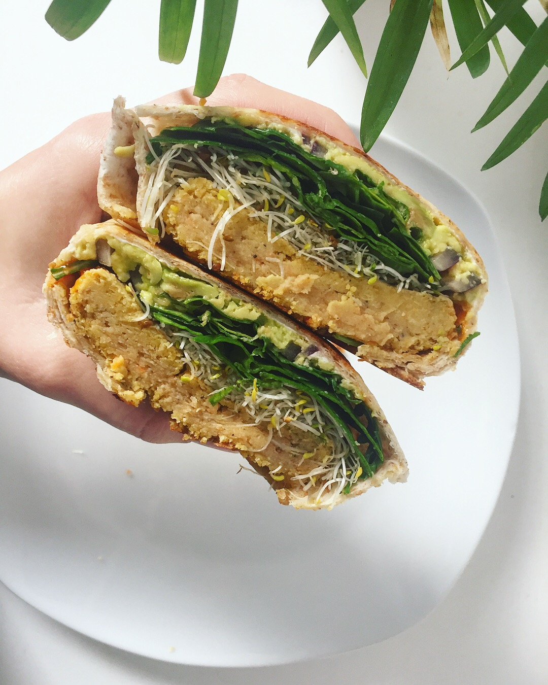Chickpea Burgers For All My Veg-Heads