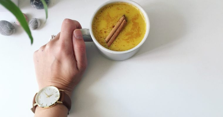 Healing Turmeric Latte For Inflammation